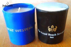 glass candle candle bar lilin batang lilin gelas murah berkualitas
